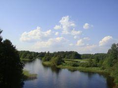Полоновка. Вид с моста, которого нет на карте :)