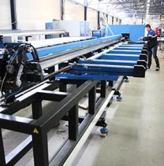 Автоматический пильно-обрабатывающий центр VSTEC AMC-300s