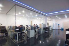 01 Стеклянные перегородки Quasar-Glass для офисов