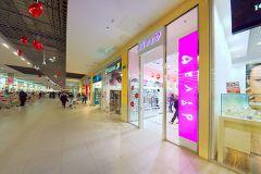 03 Стеклянные перегородки Quasar-Glass для магазинов, DIVA, ТЦ «Город»