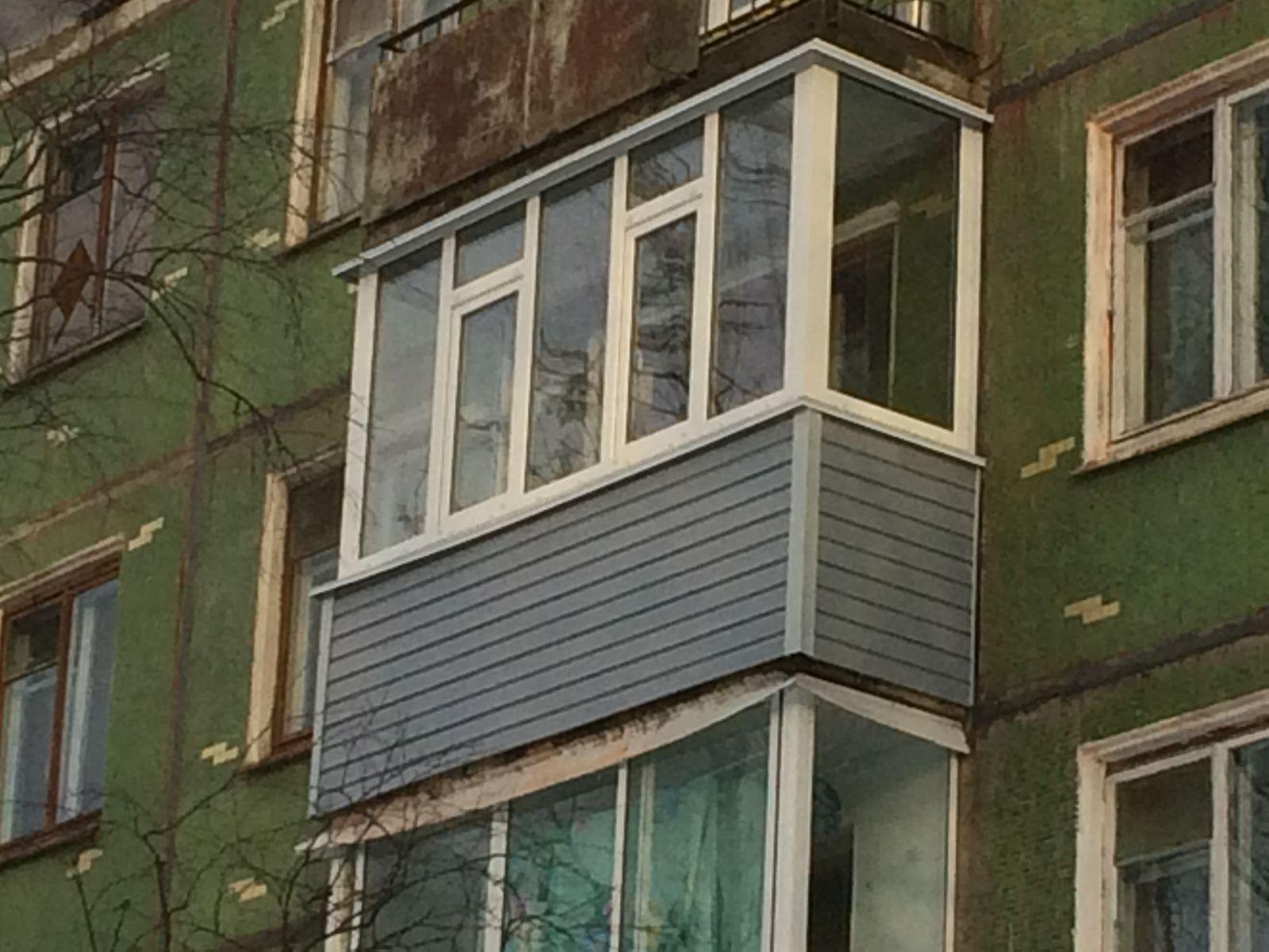 ФОТО БАЛКОН САЙДИНГ