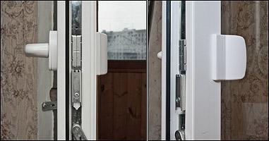 Защелка на пластиковую балконную дверь своими руками