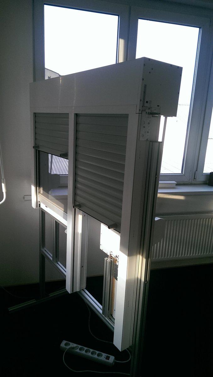 Образец комплекта рольставни на балконный блок2